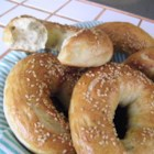 San Francisco Style Bagels - Boiled and baked bagels achieve a crunchy outside and chewy inside.
