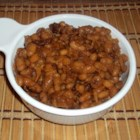Homemade Baked Beans - Try this recipe for a quick version of homemade baked beans using canned Northern beans.