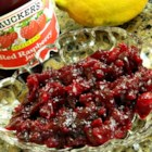 Easy Cranberry Raspberry Sauce - Five simple ingredients are all you need to create this sweet and easy cranberry-raspberry sauce.