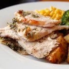 Rosemary Roasted Turkey - In this method, which can be used with all types of poultry, olive oil infused with garlic and rosemary is rubbed between the skin and meat of the bird before roasting.