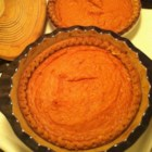 Goldilocks Sweet Potato Pie - This sweet potato pie is the perfect combination of sweet potato flavor with a smooth texture. It is 'Just right' as Goldilocks would say.