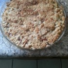 Impossible French Apple Pie - Apple pie that makes own crust. Pecans may be used in place of walnuts.