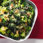 Garlic Roasted Broccoli with Parmesan Cheese - Broccoli is roasted with garlic and olive oil, then tossed with lemon juice and shaved parmesan cheese.
