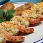 Maui Wowie Shrimp - This quick and easy Maui-inspired shrimp is coated in mayonnaise and grilled to produce a perfectly golden brown and tasty appetizer. It is perfect for backyard or beach grilling.