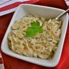 A Homemade San Francisco Treat: Chicken Vermicelli Rice - This versatile side dish simmers rice and pieces of vermicelli pasta in a mixture of garlic and onion powders, chicken bouillon granules, and water.