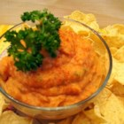 Spicy Cannellini Dip - The smooth texture of whipped cannellini beans complements the flavor and texture of canned pumpkin puree in this spicy bean dip.