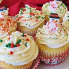 Eggnog Cupcakes - Stir your leftover eggnog into cupcake batter for a festive dessert during the holiday season. Top with homemade eggnog icing!