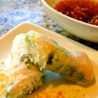 Vietnamese Spring Rolls With Dipping Sauce - These Vietnamese spring rolls are the perfect recipe for beating the heat. Poached shrimp, rice noodles, herbs, and lettuce are rolled into a thin rice wrapper. Serve with the sweet and sour dipping sauce.
