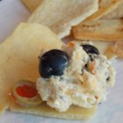 Wicked Good Dip - This is a great dip made with ham, cream cheese and shredded Colby cheese. Olives, mustard and cayenne pepper make it zesty and unforgettable.