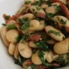 Chef John's Rocket Beans - Tender butter beans, crisp bacon, and peppery arugula combine in an earthy, rustic side dish that's ready to go in just a few minutes.