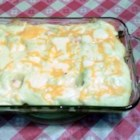 Mom's Shepherd's Pie - Shepherd's pie is adaptable to almost infinite variations. Here, the basic browned ground beef and potato combination is baked with canned French-style green beans and tomato sauce.