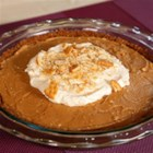 RITZ Humble Pie with Peanut Butter Mousse, created by Serendipity 3 - There's nothing humble about this delicious Peanut Butter Humble Pie. The hint of salt in the RITZ cracker crust paired with a creamy peanut butter mousse will have your guests thinking you got it straight from Serendipity 3! The easy prep is also perfect for any host who would rather get the party started with their guests than spend the day in the kitchen.