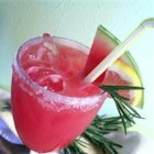 Rosemary-Infused Watermelon Lemonade - This is a recipe I created in an effort to duplicate my favorite lemonade from a cafe in downtown L.A. called, well, 'Lemonade'. I don't like it too sweet, so if you want to add more sugar, cool. But I think that this recipe is perfect.