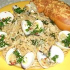 The Best Clam Sauce - I cannot order better white clam sauce in a restaurant. My boyfriend begs me to make this!  Thanks Mom! Serve this dish with fresh garlic bread and a nice white wine. I promise this is a keeper and you won't like any other white clam sauce!