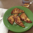 Cinnamon-Accented French Toast - Very quick, easy, and tasty french toast spiked with cinnamon.