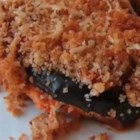 Eggplant Parmesan Casserole  - Use a few simple techniques to make an eggplant casserole that has all the flavor and texture of the traditional version with fewer calories and a lot less oil.