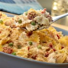 Farfalle and Tuna Casserole - This scrumptious casserole features tuna, pasta, sun-dried tomatoes and a creamy Alfredo sauce. Ready in less than 1 hour, it's sure to become a family favorite.