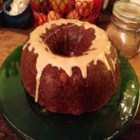 Aunt T's D.W.I. Rum Cake - An addictive made from scratch moist, spicy, dark rum bundt cake with an intoxicating rum glaze.