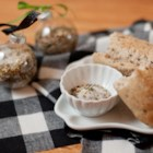 Homemade Herb Salt - The beautiful coloring and outstanding taste of this simple homemade herb salt make it the perfect gift for your gourmet or foodie friends.
