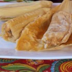 Sylvia's Pork Tamales - Authentic pork tamales with just the right amount of chile peppers and seasoning take hours to make but are worth the effort!