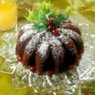 Steamed Cranberry Pudding - Easy to make, and delicious to eat using just a few ingredients.  This steamed pudding is traditional at Christmas - served with Hard Sauce.