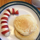 Eggnog Pancakes - You will love these big fluffy pancakes even if you don't like eggnog. It's a great way to start any day, especially Christmas morning. I suggest clarifying the butter but you don't have to if you don't want to.