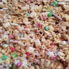 Reindeer Food - Give the gift of reindeer food, also known as 'Christmas Crack' in some circles, which is a festive white chocolate bark loaded with crunchy goodies.