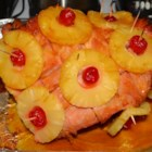 Easter Ham - A classic Easter combination of pineapple and ham, this easy main dish is sweet with honey and brown sugar.
