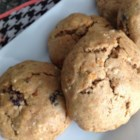 Oatmeal Carrot Raisin Cookies - Oatmeal cookies with carrots, raisins, and peanut butter are a hearty snack or lunch box treat.