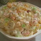 Ambrosia Salad II - This is my mom's favorite salad. My grandmother always made it during the holidays in Alabama.