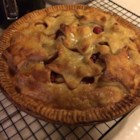 Mom's Cranberry Apple Pie - Cranberries add color and tangy flavor to a simple apple pie.