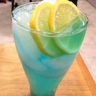 Electric Lemonade - Citron vodka, blue curacao and sour mix filled out with citrus soda and garnished with a lemon wedge. It's electrifyin'!