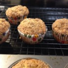 Healthier Banana Crumb Muffins - An extraordinary banana muffin made healthier with additional bananas and less sugar.