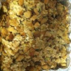 Semi-Homemade Stuffing - Pear and vegetables transform boxed stuffing mix into something special.