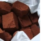 Homemade Valentine's Chocolates  - Simple truffles aren't rolled and dipped; they're just cut into small square shapes and tossed in cocoa powder. A hint of warmth from chipotle pepper adds complexity to the flavor.