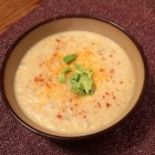 Potato Soup with Fish and Cheese - The flavors in this soup create a warm and soothing meal. A generous plate of sliced avocados is a typical accompaniment. Use an aged European Muenster for the best results.