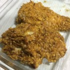 Baked Chicken - In this recipe, boneless, skinless chicken breasts are coated in crushed cornflakes and baked.