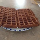 Chocolate Waffles - A chocolaty treat for breakfast. Serve with whipped cream, fruit, or a caramel syrup for an exquisite display.