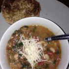 My Canadian Friend's Bean Soup - I have yet to meet a child or adult who doesn't lick their bowl after eating this. A delicious tomato based turkey sausage and bean soup. Very simple and can be ready to eat in minutes or cook for hours. Make a double or triple batch and freeze your leftovers. Serve with a fresh salad and buns for a perfect Sunday lunch or savory dinner.