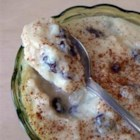 Creamy Rice Pudding - Cooked rice is combined with milk, sugar, egg, and golden raisins in this quick stove-top rice pudding.