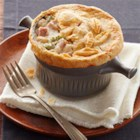Ham and Cheese Pot Pie - Warm ham and cheese go together like broccoli and cauliflower. And we've put that in the mix, too. Our hearty, creamy pot pie looks restaurant-worthy and tastes even better.
