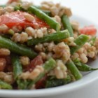 Farro Salad with Asparagus and Parmesan - The nutty flavor of farro grain balances with the salty Parmesan and tart cranberries in this tasty salad. Plan ahead, as the farro needs to soak overnight. If you can't find farro, substitute spelt or wheat berries.