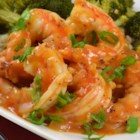 Drunken Shrimp - Succulent shrimp are stir-fried with onion, garlic, and ginger in a spicy beer-based sauce. Good as an appetizer or for dinner.