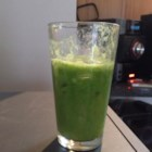 Celyne's Green Juice - Juicer Recipe - Spinach and kale are the hidden veggies in this sweet green juice that the whole family will love.