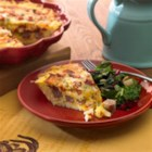 Morning Delight Quiche - It's not hard to fancy-up your breakfast, and this recipe from Johnsonville Kitchens proves it!  Taking simple, yet flavorful ingredients will give you a delicious quiche in no time.  Sun-dried tomatoes, cilantro, cheese, hash browns and eggs are combined with the phenomenal flavor of Johnsonville Original Breakfast Sausage Links to create a symphony of flavors.