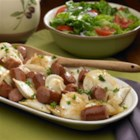 Polish Kielbasa and Pierogies - Enjoy a traditional Polish meal in no time. Johnsonville's Polish Kielbasa is the perfect companion to your favorite potato pierogies. The sausage and pierogies are cooked in a delicious medley of butter and onions. This recipe is so quick and tasty that is always hits the spot when you're craving a great Polish meal.