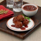 Ultimate Party Meatballs - It doesn't get any easier than this. Three ingredients, fifteen minutes and tons of flavor that'll knock your socks off!  This meal idea combines the spice of chili sauce, with the tart bite of cranberries. This sauce gives a great contrast to your favorite Johnsonville Meatballs. This dish is ready for all occasions, or whenever you feel the urge to party down!