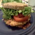 Bean Burgers - A fried vegetarian bean burger made with great northern beans. This recipe makes a lot, so stock up the freezer unless you are feeding a crowd. Serve in pitas or on hamburger buns with your favorite burger toppings.
