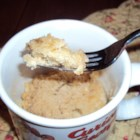 Coffee Cake in a Mug - Yummy coffee cake in a mug is a quick and easy treat for 1 person and is ready in under 15 minutes. Enjoy!