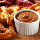 Sweet Mustard Dip - Two ingredients is all it takes to make this apple butter-mustard dip--perfect with pretzels or your favorite cheese.